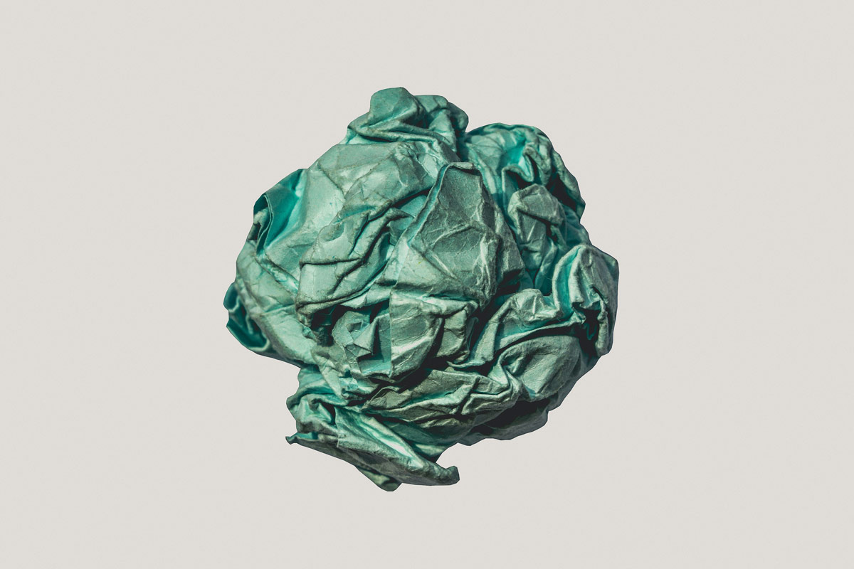 green wrapped fabric 1234688